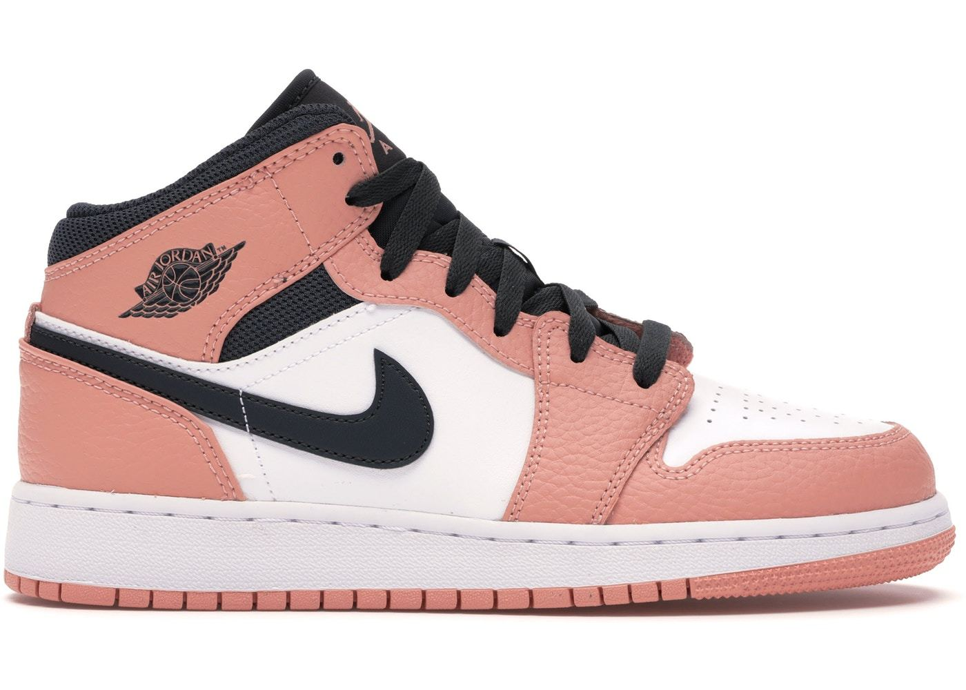 air jordan 1 mid rose